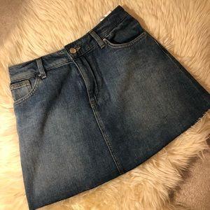 Jean skirt size 0-2
